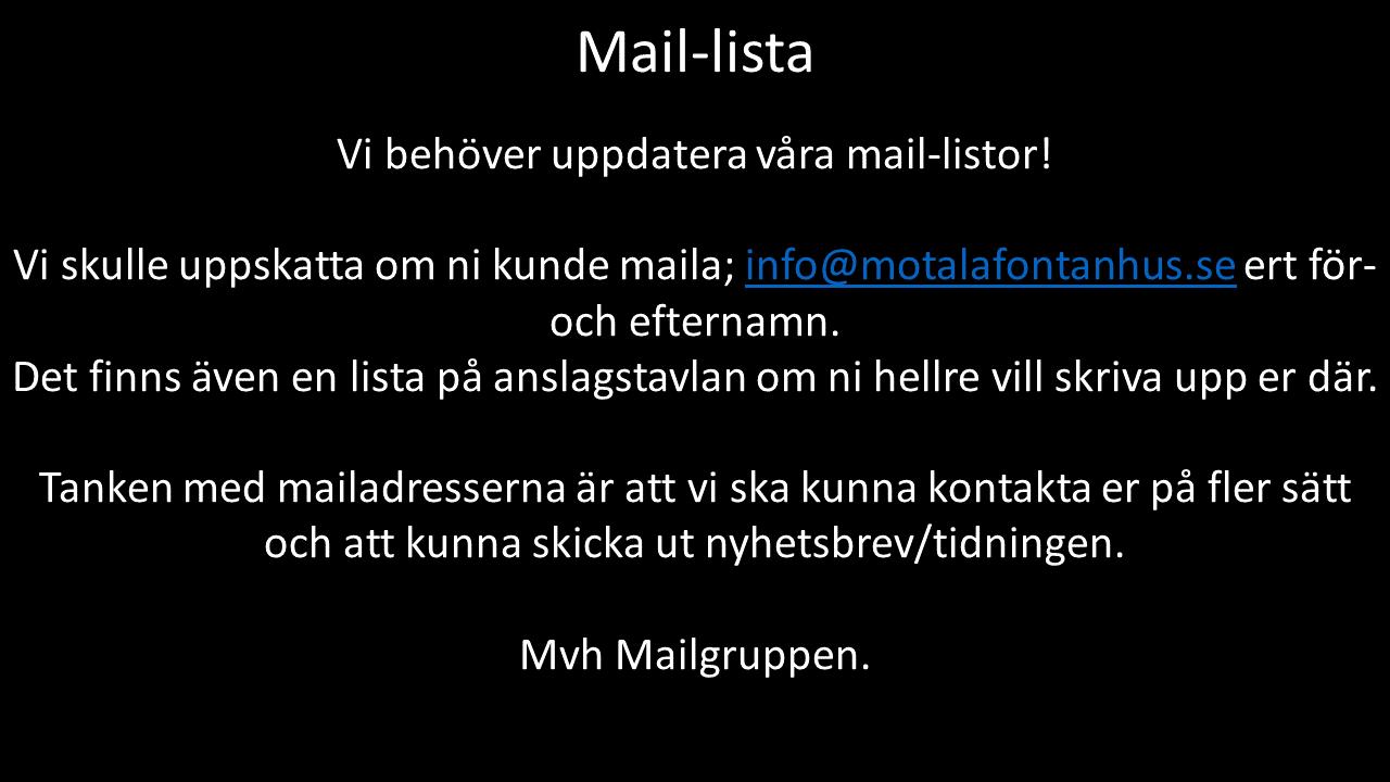 mail-listor